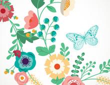 Convite Wild Flowers